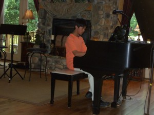 Michael at Piano